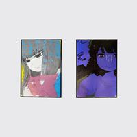 やくしまるえつこ B2 Fullcolor Poster Set / 2種セット・国内送料込み(お取り寄せ商品)