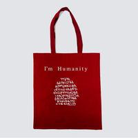 『わたしは人類』Cotton tote bag(お取り寄せ商品)