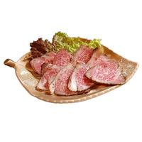 熊本県産黒毛和牛のローストビーフ ※ハネシタ70g