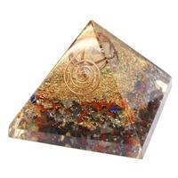 【ヒマラヤ水晶マカバスター入り!】形の持つパワー!電磁波、放射線、あらゆる人の念など ネガティブなマイナスエネルギーを生命と共鳴し+エネルギーに変換する話題の波動調整装置「ピラミッド型オルゴナイト」