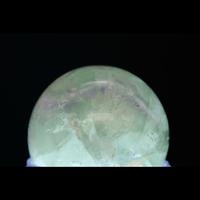 【一点モノ&早い者勝ち!】金星ヴィーナスアフロディーテに接続☆彡直感力・霊感・インスピレーション 「MIRIAM厳選」☆彡「パープルグリーンフローライト丸玉(スフィア)」