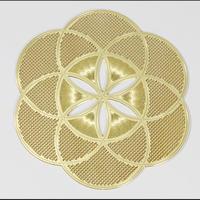 古代の叡智・尊聖なる波動を秘めた高次元エネルギーを貴方に!地球上にある全ての生命体のパターンから内なるエネルギーを呼び起こす!【「神聖幾何学☆ゴールデンパワーシンボルカード(シードオブライフ)】 希望