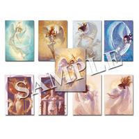 【1枚辺り2000円!】天界からの光のメッセージを貴方にお届け…!天界の神々や天使からのメッセージをしっかりキャッチ…☆「天界光カード」全9種 各1枚 スペシャルセット♡
