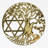 古代の叡智・尊聖なる波動を秘めた高次元エネルギーを貴方に…!地球上にある全ての生命体の内なるエネルギーを呼び起こす!【「神聖幾何学☆ゴールデンパワーシンボルカード(ツリーオブライフ&六芒星)】調和