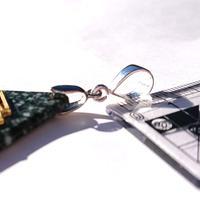 お手持ちのネックレスにそのまま通せる便利アイテム…!6mm玉や6mm幅の紐まで対応可能…!シルバーカン変更オプションサービス☆