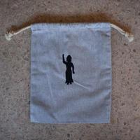 シャカ 巾着 (刺繍)