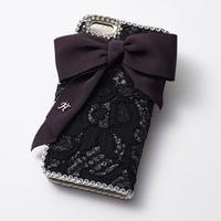 Hime. フランス製レースiphone7/iphone6/iphone5ケース