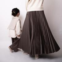 misanpoさてんしりーず【pleats skirt】for mom