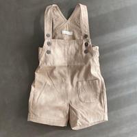 misanpo オリジナル ハーフパンツ丈サロペット