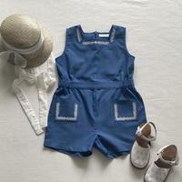【550】berry jump suit