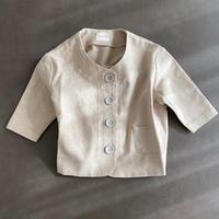 misanpo オリジナル ノーカラーシャツ