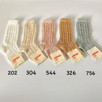 【2518/2】PERLE OPENWORK KNEE HIGH SOCKS size0-2