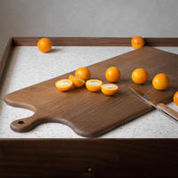 "CUTTING BOARD CB-06 "" HANDLE - BW """