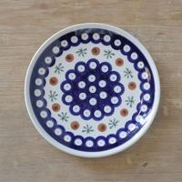 ポーリッシュポタリー  平皿16cm