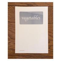 初期zine : vegetables
