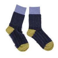 grass&grass socks / ネイビー