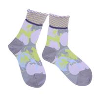 water ripple socks / イエロー