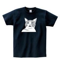 フレーメン猫 Tシャツ【ネイビー】