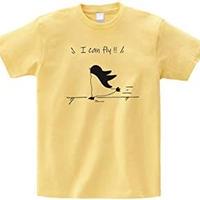 Icanfiy!! Tシャツ【ライトイエロー】