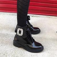 bijew buckle short boots