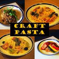 ★craft pasta★お得★お試し4種のパスタソース詰め合わせ もちもち生パスタ4袋