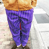 """COOKMAN"" Chef Pants[Pin Stripe.Purple]"