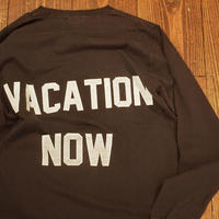 """MODEM DESIGN"" Long Sleeve Tee[VACATION NOW]"