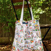 """""""RED and WHITE Kitchen Company"""" Map Tote Bag(Los Angeles)"""