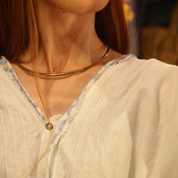 "再入荷""STUDEBAKER metals"" Turques Necklace"