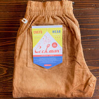 """COOKMAN"" Chef Pants[Corduroy.Brown]"