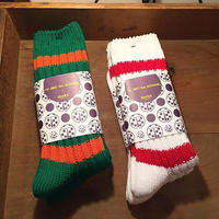 """decka""BRU NA BOINNE × decka quality socks Heavy border socks"