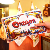 """RED and WHITE Kitchen Company"" Map Pouch[OREGON]"