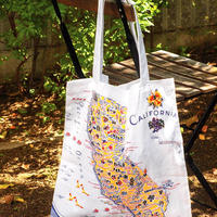 """""""RED and WHITE Kitchen Company"""" Map Tote Bag(California)"""