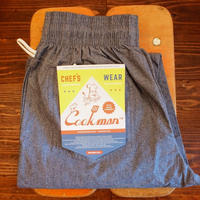 """COOK MAN"" Chef Pants[Chambray]"
