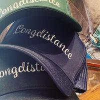 """""""LONGDISTANCE"""" Mesh Logo Cap"""