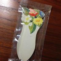 スウェーデン 花のネームカード 10枚セット