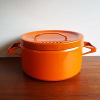 FINEL Seppo Mallat オレンジ両手なべ finel-005