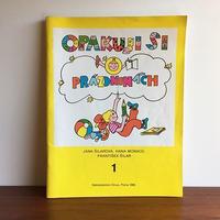 チェコ 学習ドリル本 OPAKUJI SI O PRAZDNINACH book-037