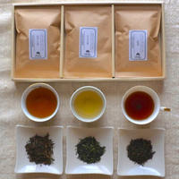 やすらぎ3種類ギフトセット【ほうじ茶・かぶせ茶・紅茶】 [加茂自然農園] made in 京都府