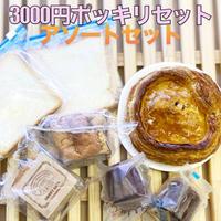 【 3000円 ポッキリ 送料無料】アップルパイ 小 1個 カヌレ 2種類 1個ずつ 食パン 2枚 紅茶シフォンケーキ キューブ 2個