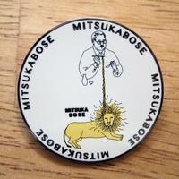 MITSUKABOSE ライオンバッジ