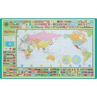 コンパクト学習マット 世界地図  サイズ:510X40X1.0㎜