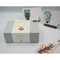 【お歳暮】もみじの出逢いギフトボックス  +祈願杓子(商売繁盛)+博多屋正月記念ハガキセット