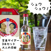 錦水館オリジナル 宮島サイダー 3本セット