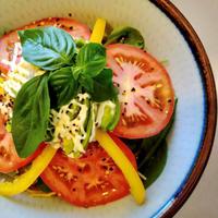 (冷蔵) 宮崎県産季節のお野菜10品とカスタムまぜそばのセット
