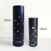 ポケットサーモボトル 130ml(ウミキリンロゴ)