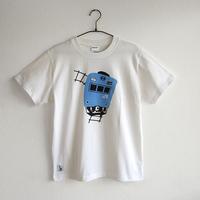 おとな半袖Tシャツ ホワイト (103系 JR和田岬線)