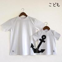 こどもTシャツ ホワイト(イカリ)