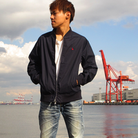 MA-1ジャケット ネイビー(ウミキリン)
