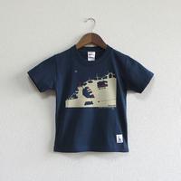 こどもTシャツ ブルー(神戸港)